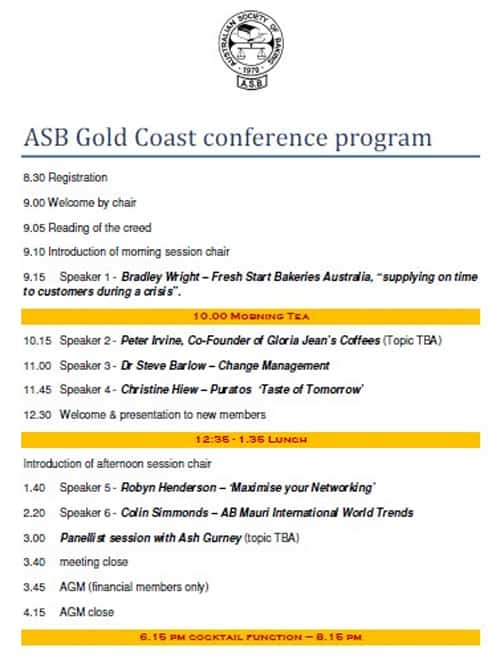 ASB Conference Oct 2012